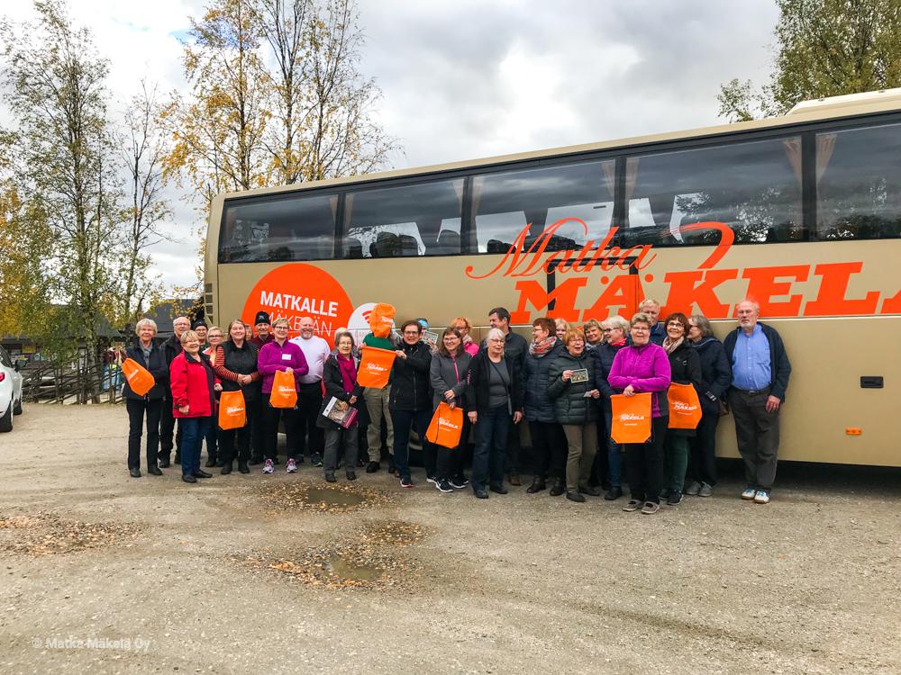 Club Mäkelä Kolmen kansallispuiston kierroksella 2018