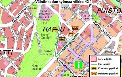 Reittimuutos Jyväskylässä!